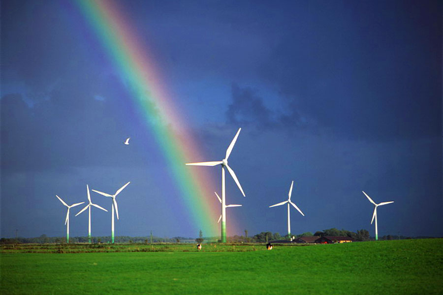 ... wind energy with support increasing among those living closer to wind