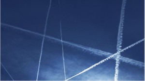 Contrails in sky-T&E copy